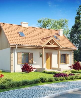 Z14 — проект дома с отделкой