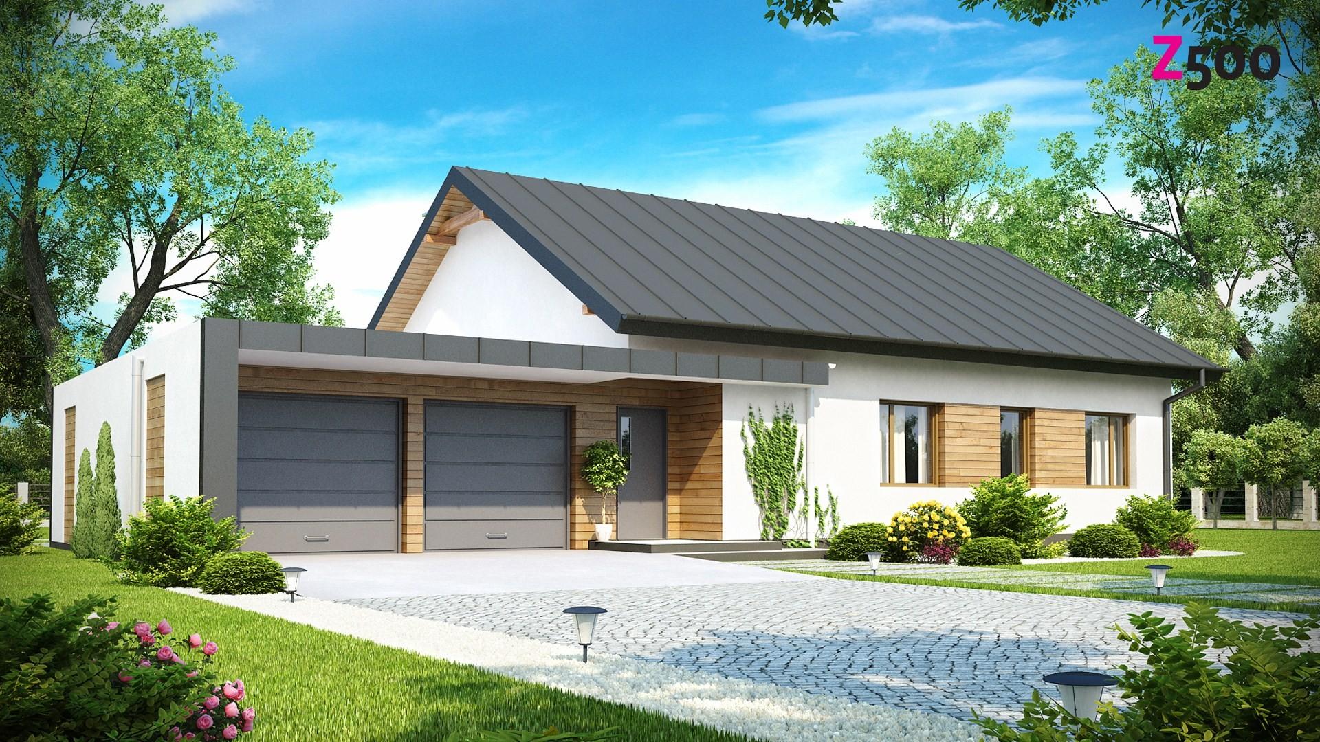 Дизайн гаражей частных домов фото