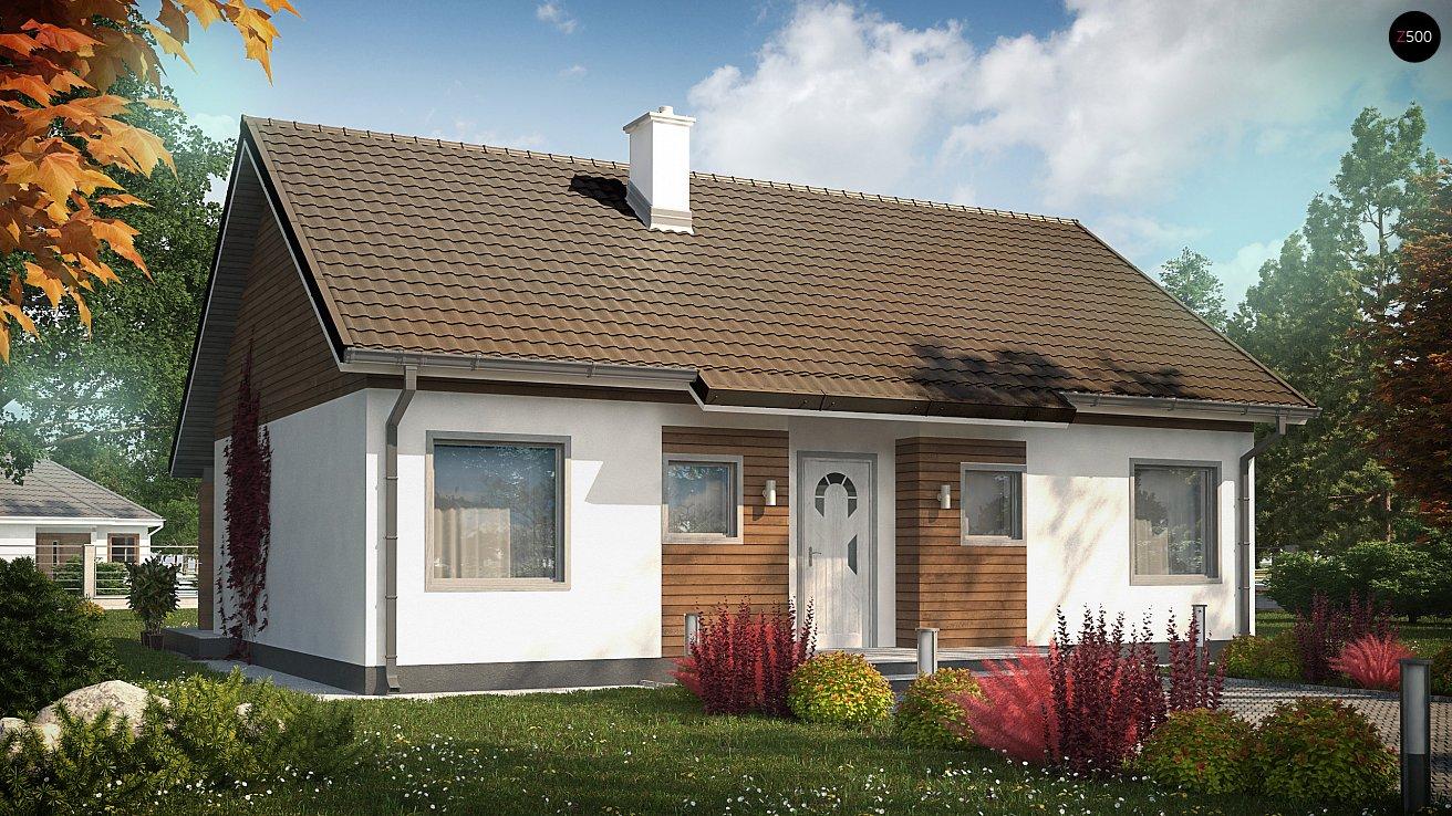 Крыши одноэтажных домов фото