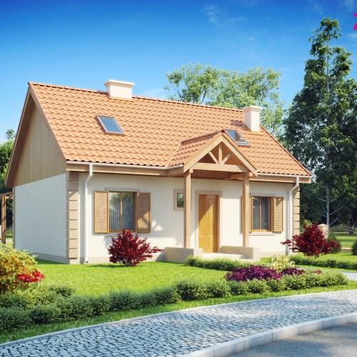 Проект одноэтажного дома Z14
