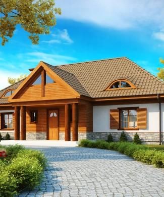 Готовый проект частного дома