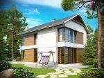 готовый проект дома из пенобетона в Беларуси
