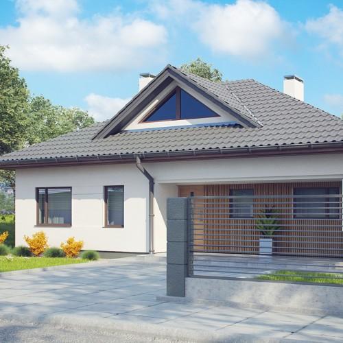 Z230 проект одноэтажного дома