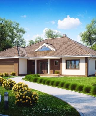 Проект одноэтажного дома в Минске