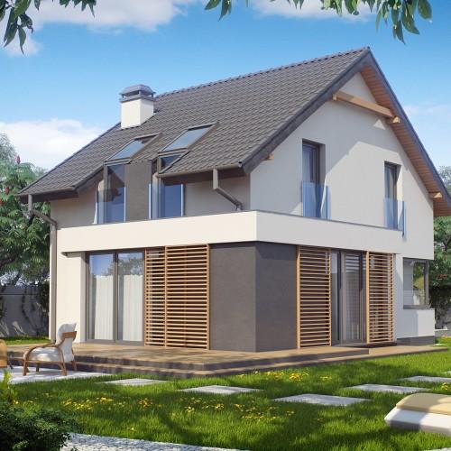 проект дома для узких участков Беларусь