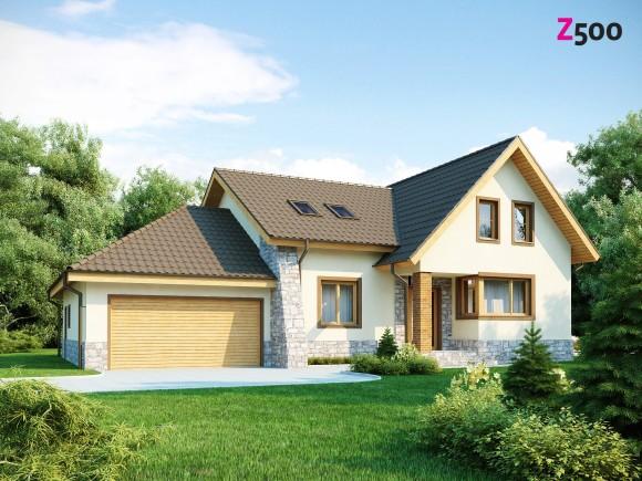 готовый проект каменного дома в Беларуси