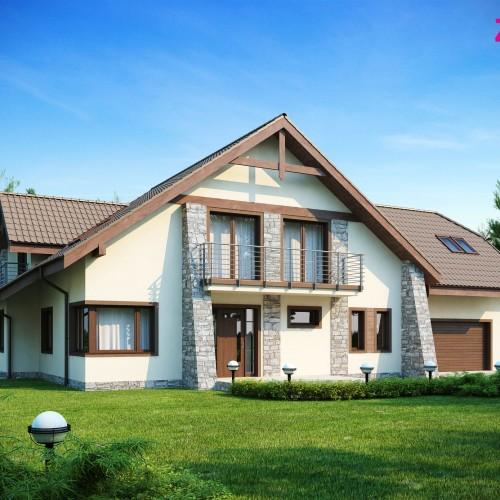 готовый проект особняка Минск