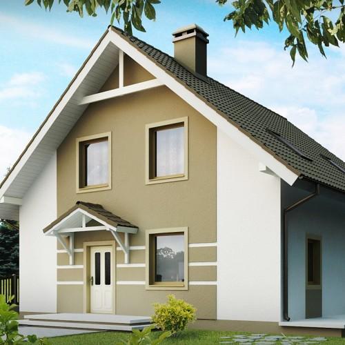 Z62 проект мансардного дома