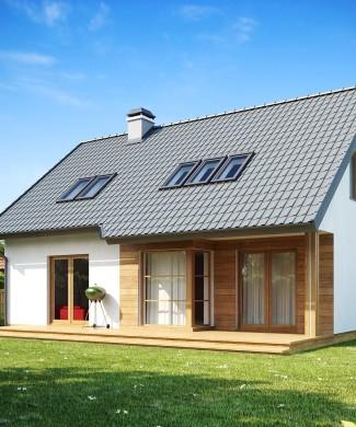 готовый проект дома из газобетона Беларусь