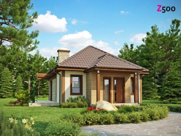 Проект дачного дома в Беларуси