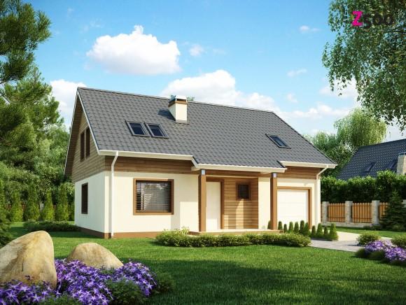 Типовой проект дома из газобетона в Беларуси