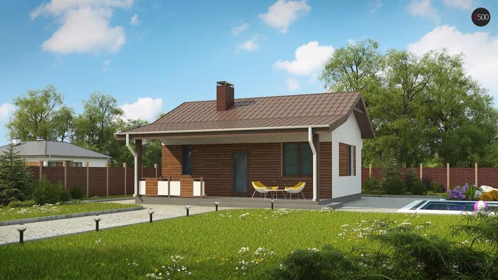 польские проекты гостевых домов с баней