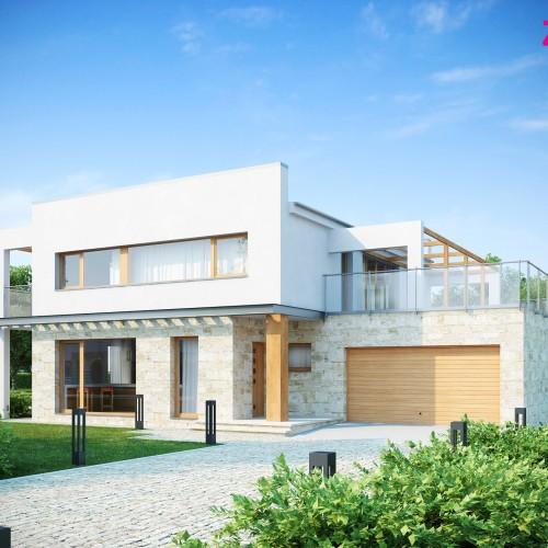 Проект дома хай тек Беларусь