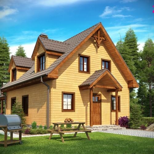 Вторая версия проекта дома Z30