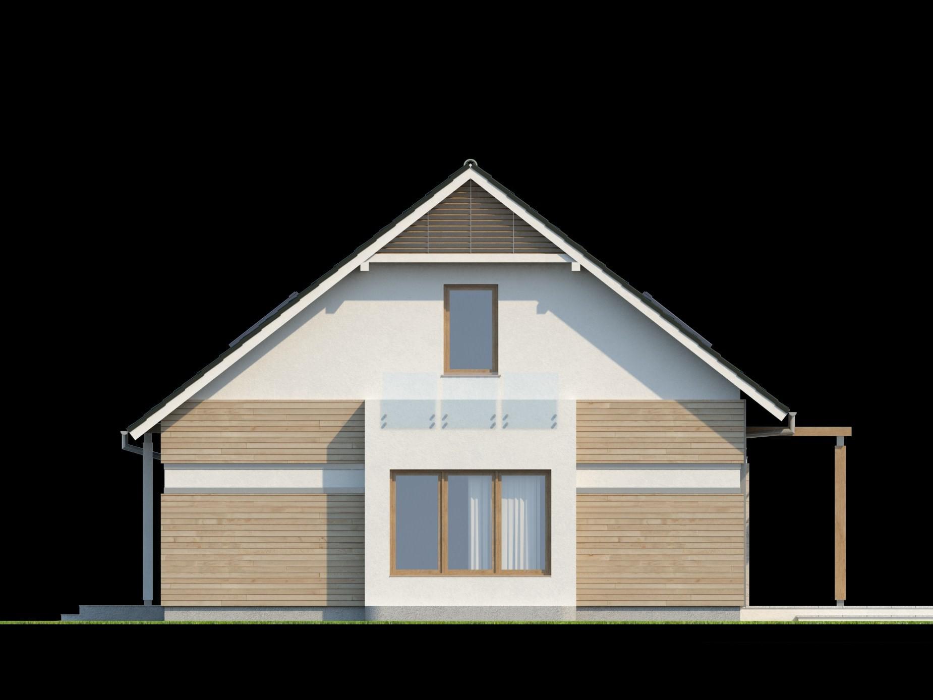 Дизайн домов с эркером