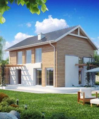 Готовый проект двухэтажного дома в Минске Z115
