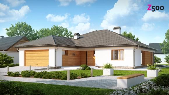 Типовой проект загородного одноэтажного дома Беларусь