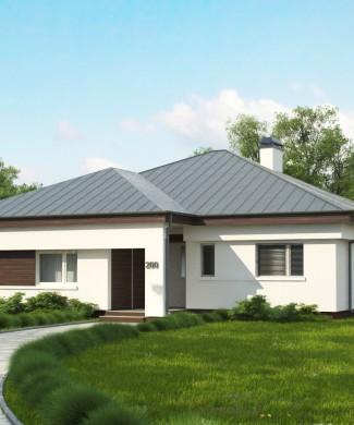 Проект одноэтажного дома Z200 Минск