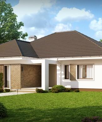 Проект одноэтажного дома Минск