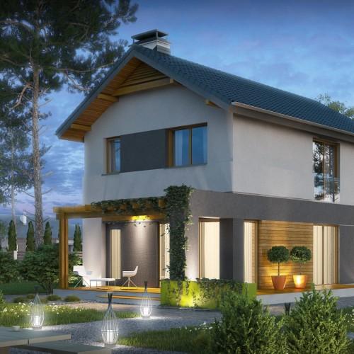 Z297 проект небольшого двухэтажного дома