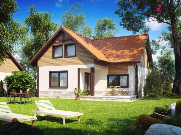 Проект дома с мансардой Минск