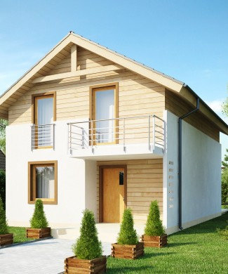 Готовый проект двухэтажного дома Беларусь