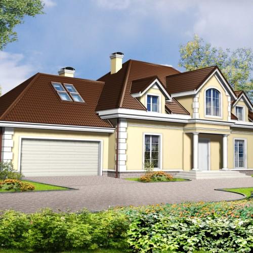 Проект загородного поместья