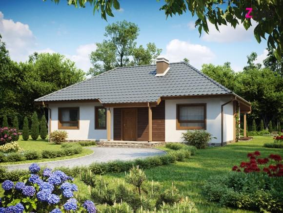 Проект недорогого одноэтажного дома Минск
