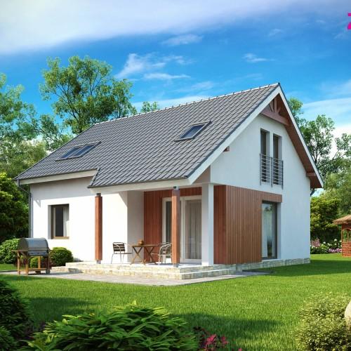 проект мансардного дома Минск