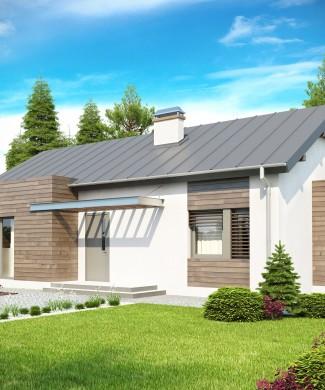 Проект одноэтажного дома Z93 Минск