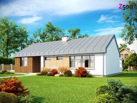 Проект компактного частного одноэтажного дома Минск