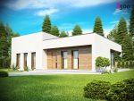 Современный проект одноэтажного дома Беларусь