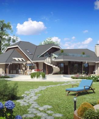 Проект особняка виллы Беларусь