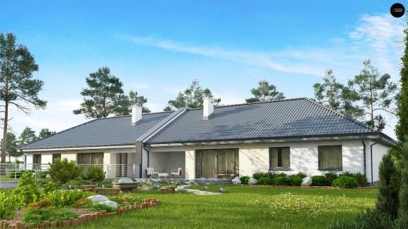 Проект одноэтажного дома на две семьи Беларусь
