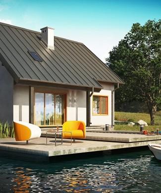 Готовый проект частного дома Минск