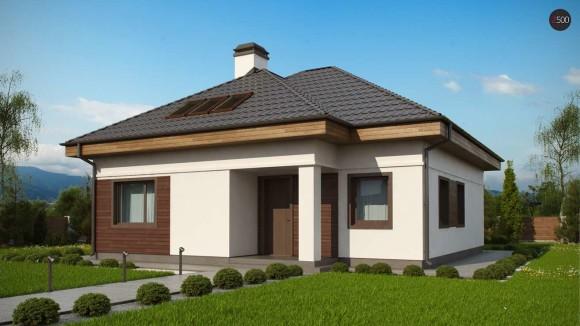 Типовой проект частного одноэтажного дома Минск