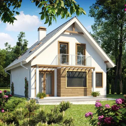 Проект коттеджного дома в Минске