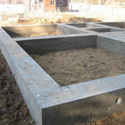 Как построить дом по проекту на существующем фундаменте