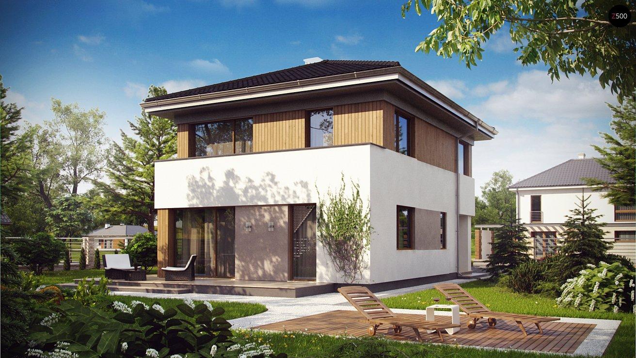 схема маленького двухэтажного дома