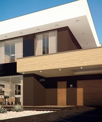 Готовый проект дома в стиле хай-тек Беларусь