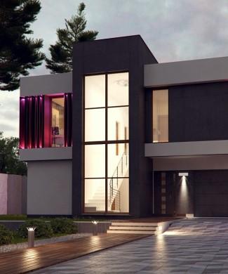 Готовый проект дома будущего