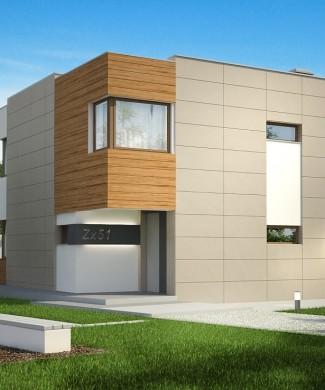 Проект современного небольшого дома Минск