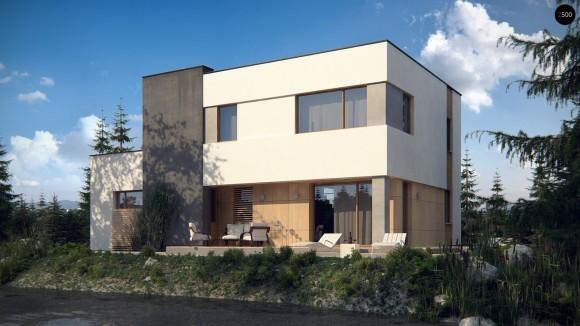 Проект дома в стиле минимализм в Минске