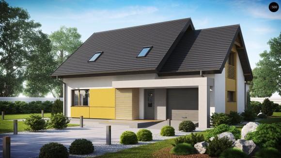 Проект одноэтажного дома с тремя спальнями Беларусь