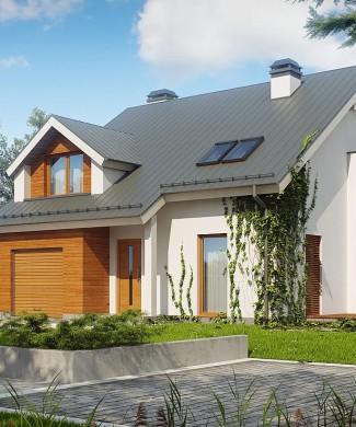 Проект коттеджа с пятью спальнями Минск
