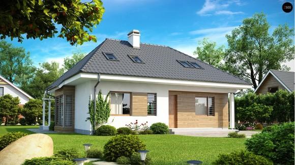 Проект мансардного дома 10х12 Минск