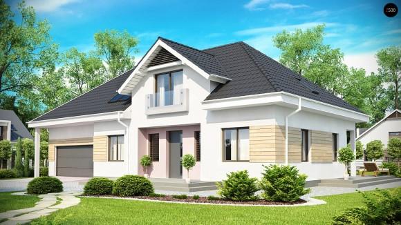 Проект большого дома с мансардой Минск