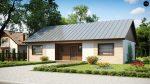 Проект одноэтажного дома с тремя большими спальнями Беларусь