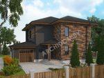Архитектурный проект двухэтажного дома в Минске