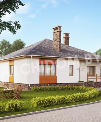 Купить архитектурный проект одноэтажного дома в Минске недорого